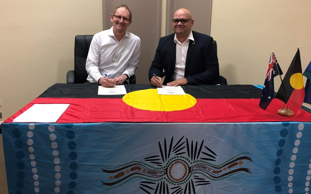 Signing of a New Partnership in Western NSW