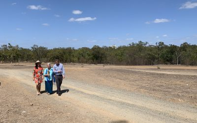 Rockhampton site works welcomed
